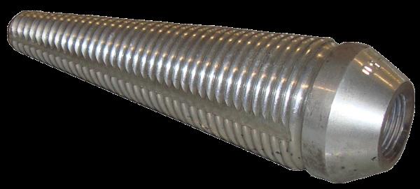Erdraketen > Nachziehzubehör > PE-Schneidnippel 25-50/JIC