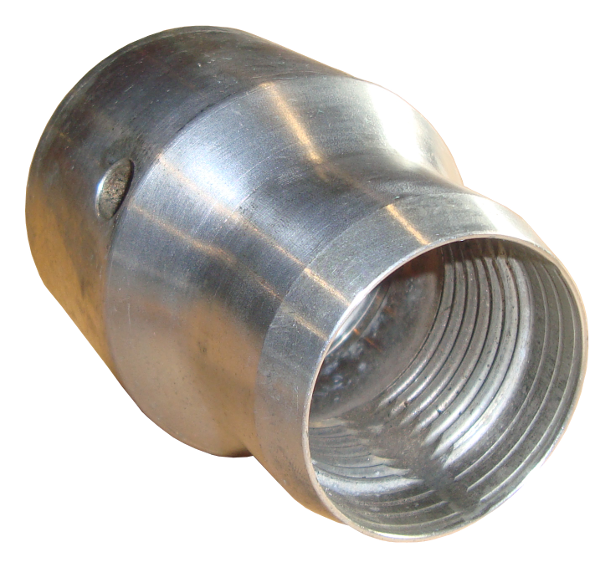 Erdraketen > Endadapter > PE-Rohradapter 63 (080)