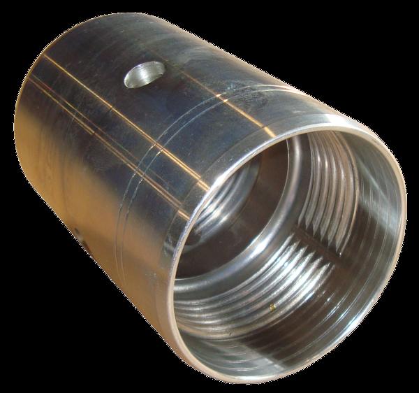 Erdraketen > Endadapter > PE-Doppelmuffe 63/63