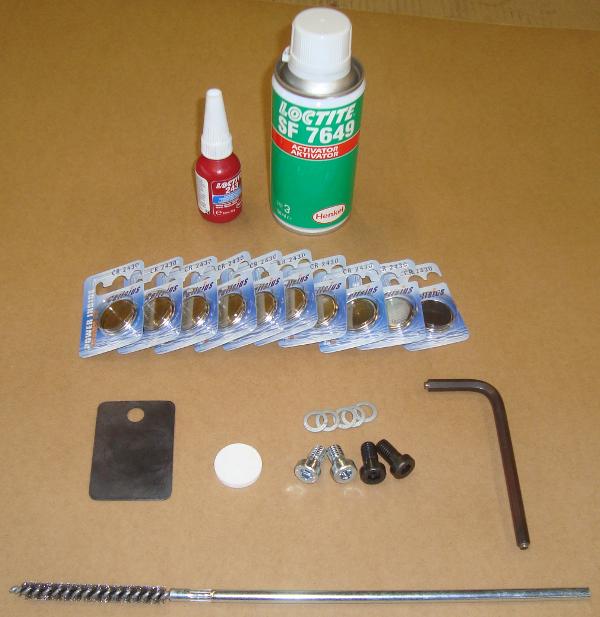 Erdraketen > Ortungszubehör > Batteriewechselsatz 135