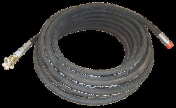 Erdraketen > Druckluft-Spezialschläuche > Verlängerungsschlauch 135/3m