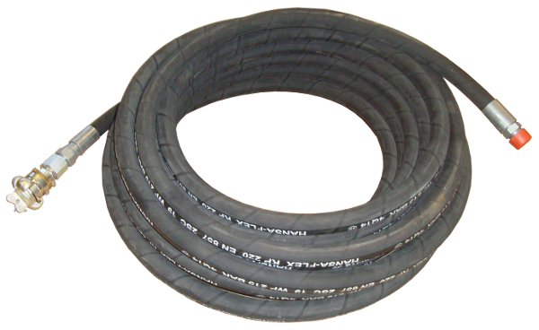 Erdraketen > Druckluft-Spezialschläuche > Verlängerungsschlauch 135/25m