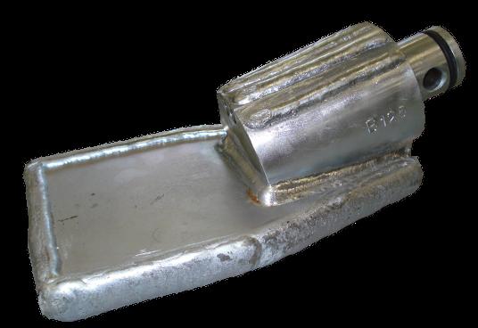 HDD Horizontal Spülbohranlagen > Steuerköpfe für Sondengehäuse ø 68 mm > Steuerkopf Typ B/125 (ø68)