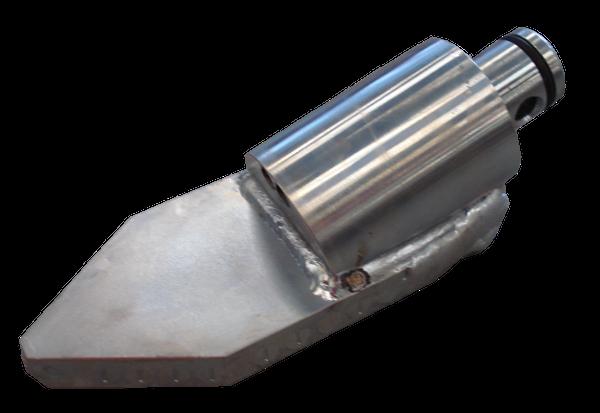 HDD Horizontal Spülbohranlagen > Steuerköpfe für Sondengehäuse ø 68 mm > Steuerkopf Typ C/80 (ø68)