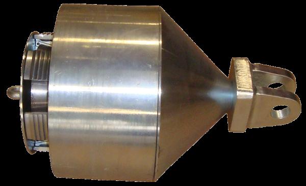 HDD Horizontal Spülbohranlagen > Spreizdorne, Ziehköpfe (hohe Zugkraft) > Spreizdorn 280