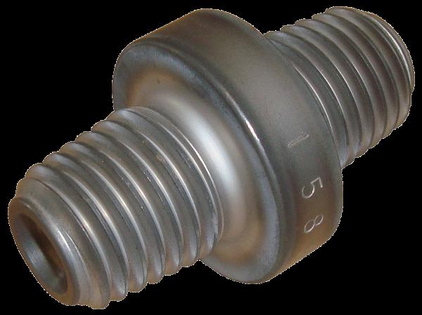 HDD Horizontal Spülbohranlagen > Gestängeaufnahmen, Sub saver > Verschleissstück ø6/2x API-30 pin (MJ DR)