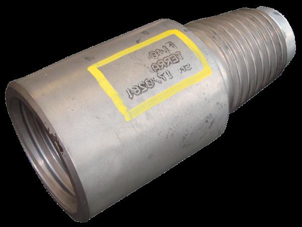 HDD Horizontal Spülbohranlagen > Gestängeaufnahmen, Sub saver > Verschleissstück F140pin x F140box (3008 E+ES)