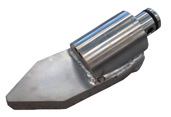 HDD Horizontal Spülbohranlagen > Steuerköpfe für Sondengehäuse ø 90 mm > Steuerkopf Typ C/120 (ø90)