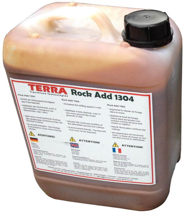 HDD Horizontal Spülbohranlagen > TERRA-ROCK Additive (Zusätze) > TERRA Rock Add 1304 (5ltr)