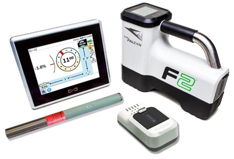 HDD Horizontal Spülbohranlagen > Ortungssysteme > Breitband Ortungssystem mit Monitor FCD