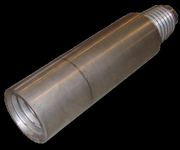 HDD Horizontal Spülbohranlagen > Gestängeaufnahmen, Sub saver > Verschleissstück F120pin x F120box (TJ 1804 S)