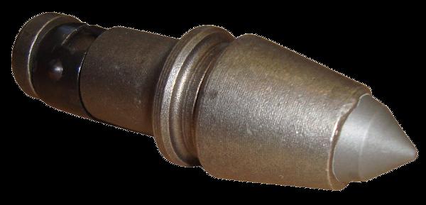 HDD Horizontal Spülbohranlagen > HM-Zähne (Hartmetall) für Räumer  > Rundschaftmeissel 19.4/27/84