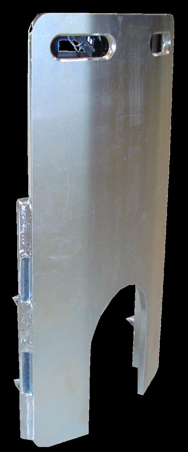 Seilberster > Frontplatten, Frontboxen > Gebogene Frontplatte ø800